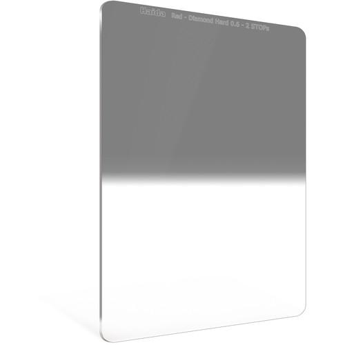 Haida 100 x 150mm Red Diamond Hard-Edge Graduated Neutral Density 0.6 Filter (2-Stop)