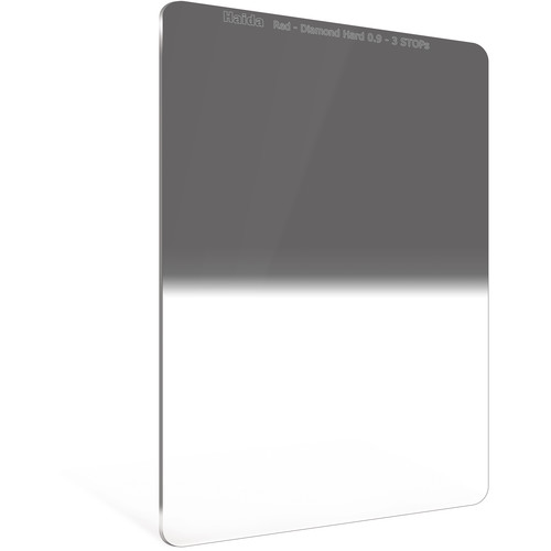 Haida 100 x 150mm Red Diamond Hard-Edge Graduated Neutral Density 0.9 Filter (3-Stop)