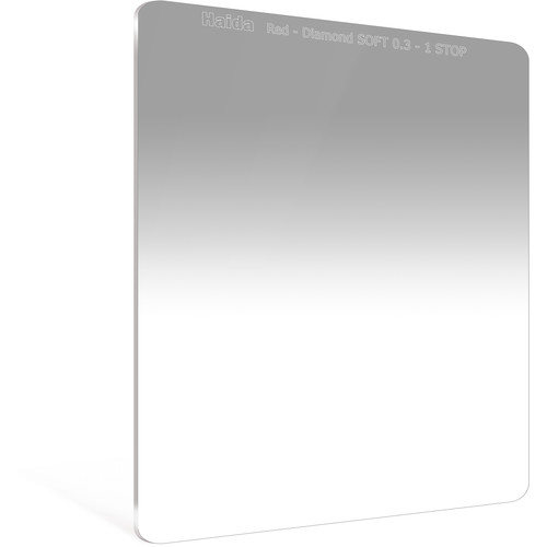 Haida 150 x 170mm Red Diamond Soft-Edge Graduated Neutral Density 0.3 Filter (1-Stop)