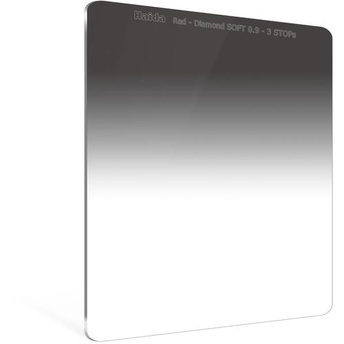 Haida 150 x 170mm Red Diamond Soft-Edge Graduated Neutral Density 0.9 Filter (3-Stop)