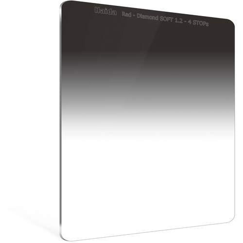 Haida 150 x 170mm Red Diamond Soft-Edge Graduated Neutral Density 1.2 Filter (4-Stop)