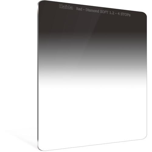 Haida 150 x 170mm Red Diamond Soft-Edge Graduated Neutral Density 1.2 Filter (4-Stop)