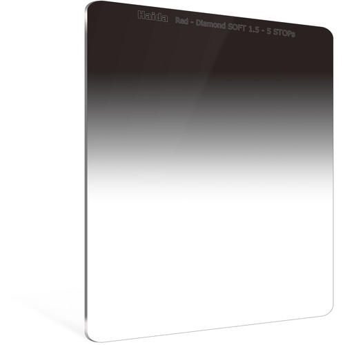 Haida 150 x 170mm Red Diamond Soft-Edge Graduated Neutral Density 1.5 Filter (5-Stop)