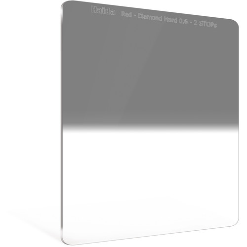 Haida 150 x 170mm Red Diamond Hard-Edge Graduated Neutral Density 0.6 Filter (2-Stop)