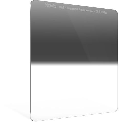 Haida 150 x 170mm Red Diamond Hard-Edge Reverse-Graduated Neutral Density 0.9 to 0.3 Filter (3- to 1-Stop)