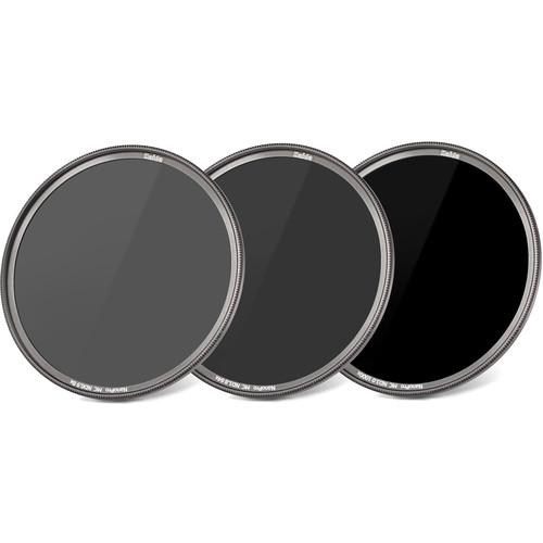 Haida 67mm NanoPro MC ND 0.9, 1.8, and 3.0 Filter Kit (3, 6, and 10-Stop)