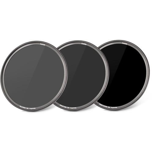 Haida 77mm NanoPro MC ND 0.9, 1.8, and 3.0 Filter Kit (3, 6, and 10-Stop)