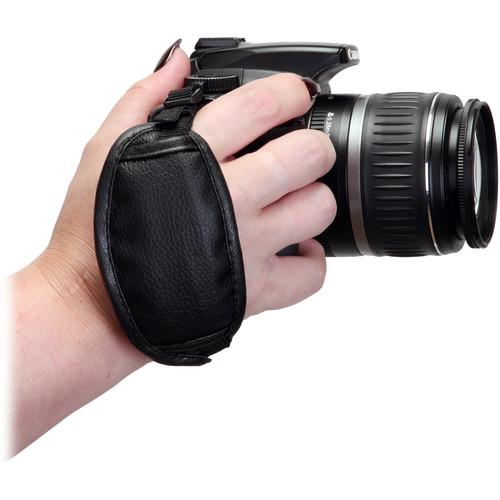 Hakuba Sunpak Camera Grip Wrist Strap (Black)