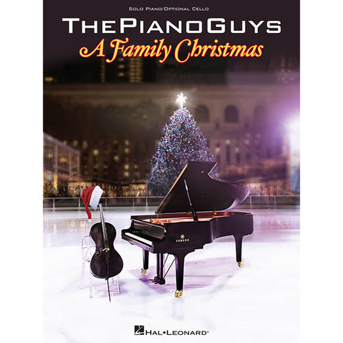 Hal Leonard Songbook: The Piano Guys - A Family Christmas - Piano/Cello Arrangements (Personality Series, Paperback)
