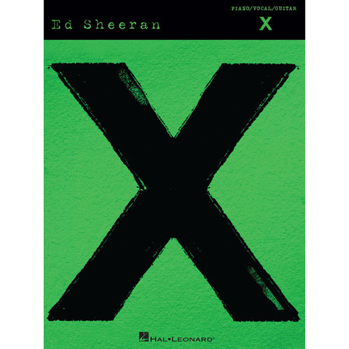 Hal Leonard Songbook: Ed Sheeran X - Piano/Vocal/Guitar Arrangements (Paperback)