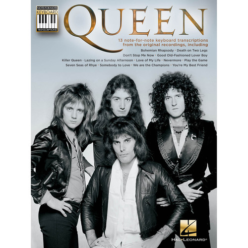 Hal Leonard Songbook: Queen - Note-for-Note Keyboard Transcriptions (Paperback)