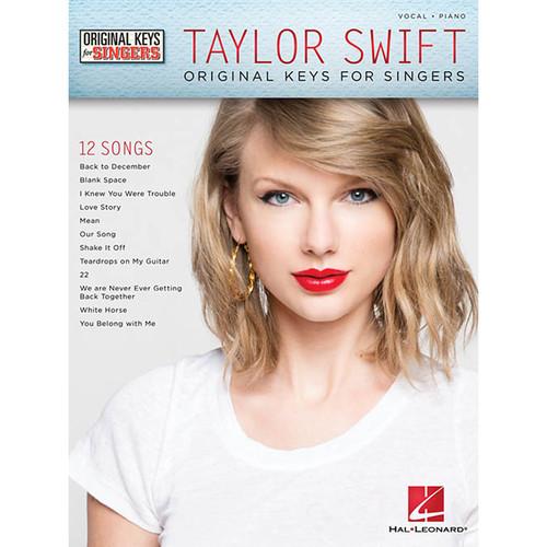 Hal Leonard Songbook: Taylor Swift - Original Keys for Singers (Paperback)