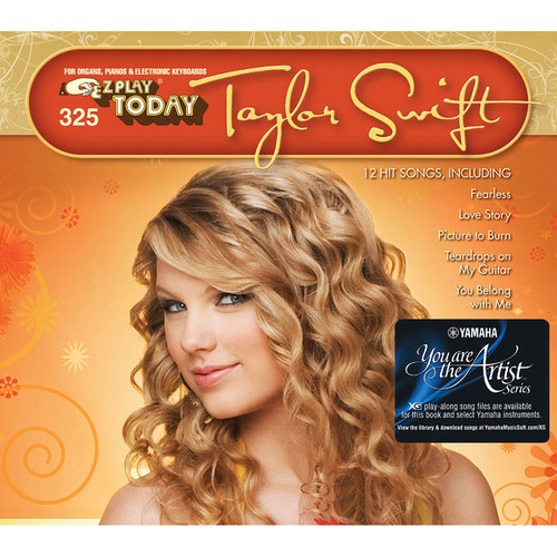 Hal Leonard Taylor Swift - E-Z Play Today Songbook with Yamaha You Are the Artist XG Play-Along Song Files