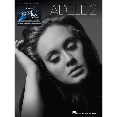Hal Leonard Adele - 21 with Yamaha You Are the Artist XG Play-Along Song Files