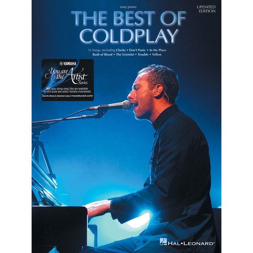 Hal Leonard The Best of Coldplay for Easy Piano with Yamaha You Are the Artist XG Play-Along Song Files
