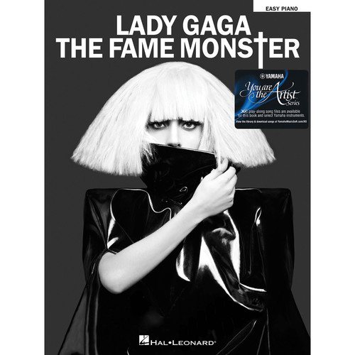 Hal Leonard Lady Gaga - The Fame Monster with Yamaha You Are the Artist XG Play-Along Song Files