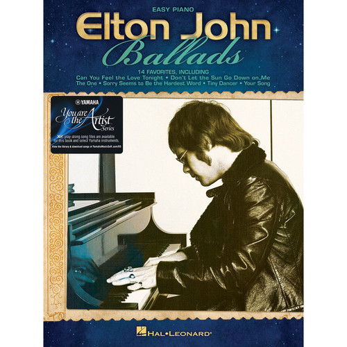 Hal Leonard Elton John - Ballads with Yamaha You Are the Artist XG Play-Along Song Files