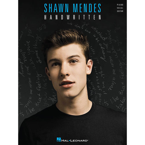 Hal Leonard Songbook: Shawn Mendes Handwritten - Piano/Vocal/Guitar Arrangements (Paperback)