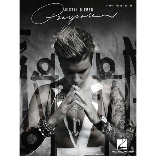 Hal Leonard Songbook: Justin Bieber Purpose - Piano/Vocal/Guitar Arrangements (Paperback)