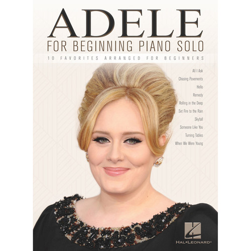 Hal Leonard Songbook: Adele for Beginning Piano Solo (Paperback)
