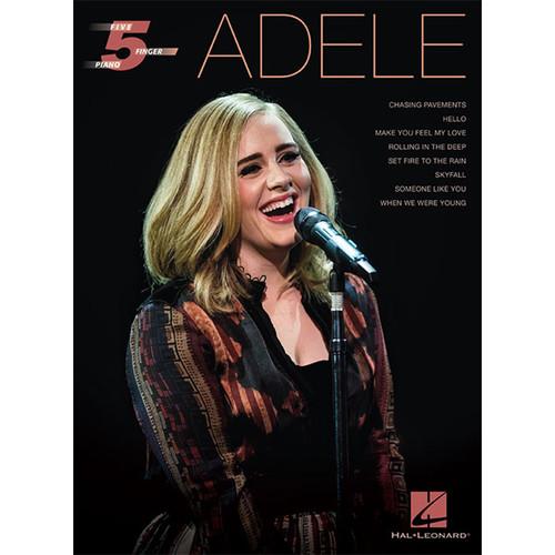 Hal Leonard Songbook: Adele Five-Finger Piano Arrangements (Paperback)