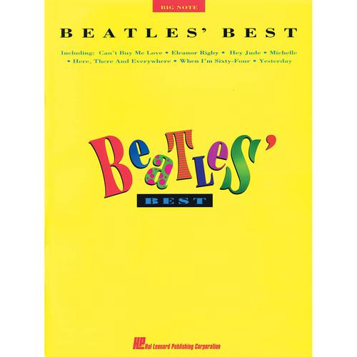 Hal Leonard Songbook: Beatles' Best - Solo Piano Arrangements (Big Note Personality Series)
