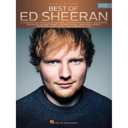 Hal Leonard Songbook: Best of Ed Sheeran - Easy Piano Arrangements (Updated Edition, Paperback)