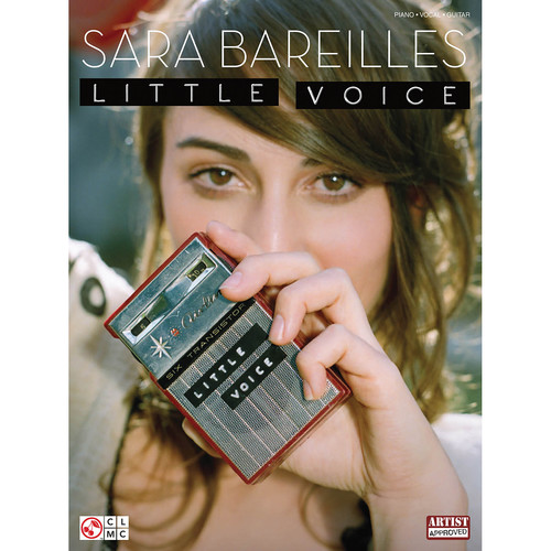 Hal Leonard Songbook: Sara Bareilles Little Voice - Piano/Vocal/Guitar Arrangements (Cherry Lane Music, Paperback)