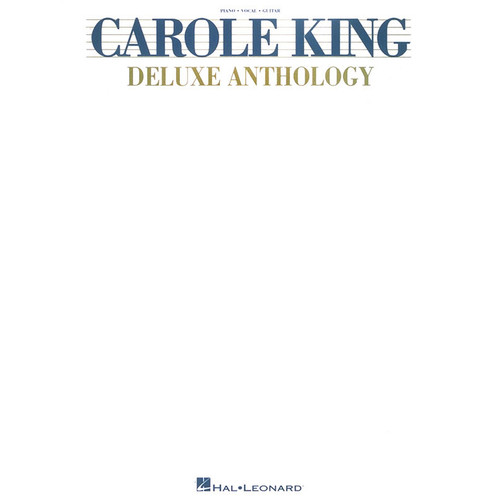 Hal Leonard Songbook: Carole King Deluxe Anthology - Piano/Vocal/Guitar Arrangements
