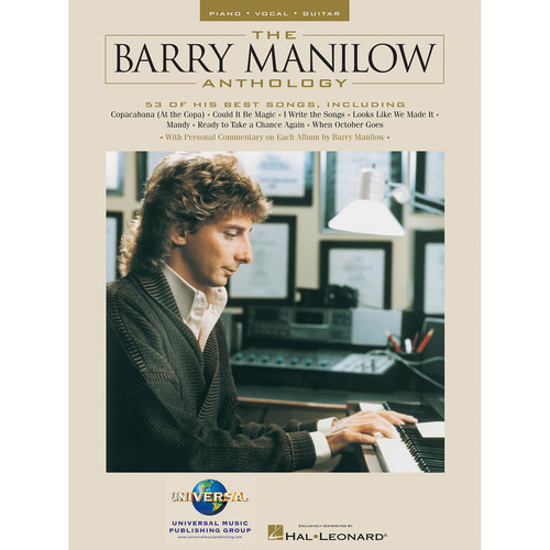 Hal Leonard Songbook: The Barry Manilow Anthology - Piano/Vocal/Guitar Arrangements