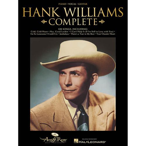 Hal Leonard Songbook: Hank Williams Complete - Piano/Vocal/Guitar Arrangements