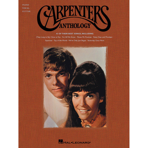 Hal Leonard Songbook: Carpenters' Anthology - Piano/Vocal/Guitar Arrangements