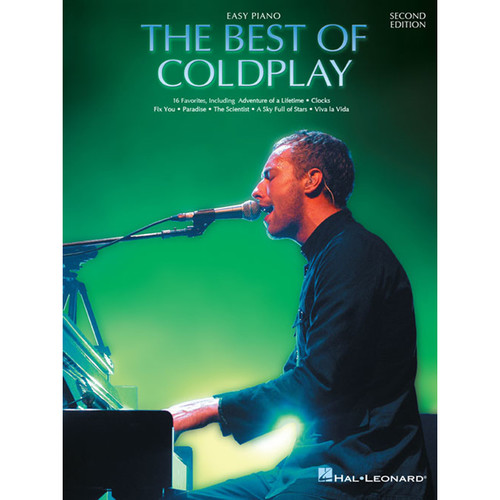 Hal Leonard Songbook: The Best of Coldplay - Easy Piano Arrangements (2nd Edition, Paperback)