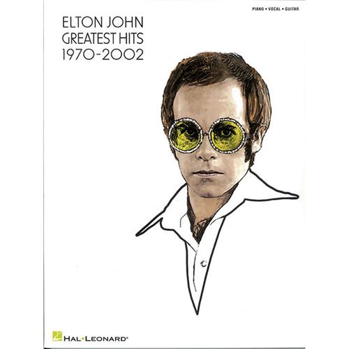 Hal Leonard Songbook: Elton John Greatest Hits 1970-2002 - Piano/Vocal/Guitar Arrangements