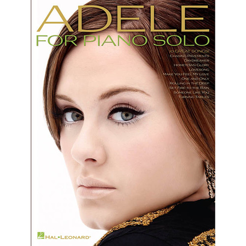 Hal Leonard Songbook: Adele for Piano Solo (2nd Edition, Paperback)