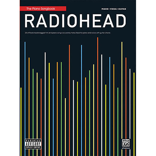 Hal Leonard Songbook: Radiohead, Piano/Vocal/Guitar Arrangements (Alfred Publishing Co., Paperback)