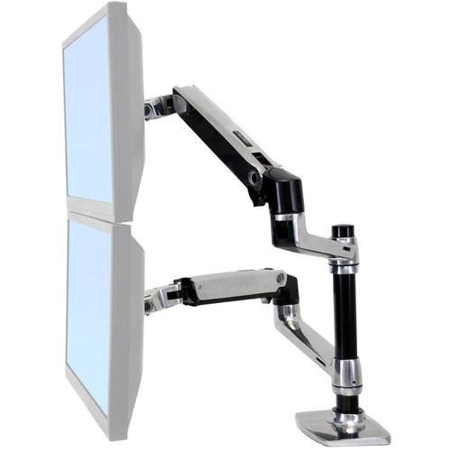 Halter Dual LCD Adjustable Monitor Arm