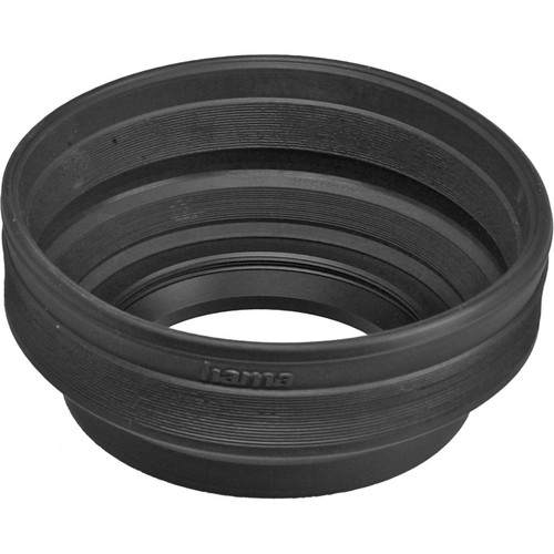 Hama 62mm Screw-In Rubber Zoom Lens Hood for 24mm to 210mm Lenses