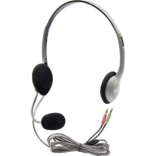 HamiltonBuhl 20 Pack of Multimedia Headphones with Microphone
