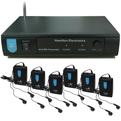 HamiltonBuhl ALS-600 Wireless VHF Assistive Listening System