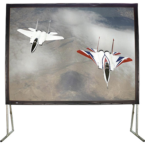 "HamiltonBuhl 123"" Diagonal Easy Fold Portable Screen with Carry Case (16:9)"