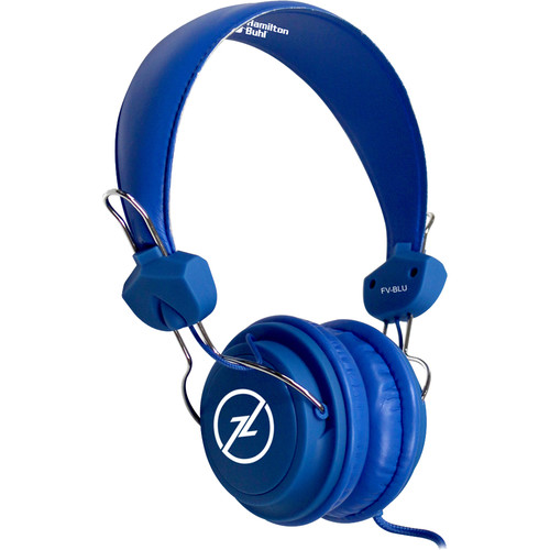 HamiltonBuhl TRRS Headset with In-Line Microphone (Blue)