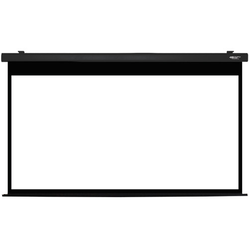 """HamiltonBuhl HBS59105BK 59 x 105"""" Electric Projection Screen"""