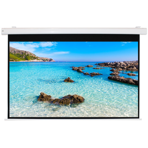 """HamiltonBuhl HBS8484 84 x 84"""" Electric Projection Screen"""