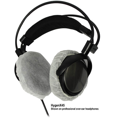 HamiltonBuhl HYGENXCP45 HygenX Sanitary Headphone Covers for Over-Ear Headsets (600 Pairs)