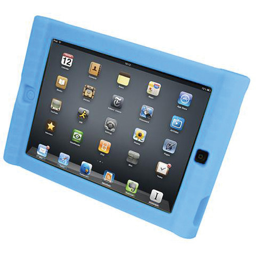 HamiltonBuhl Kids iPad Protective Case for iPads 2 & 3 (Blue)