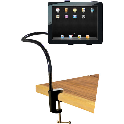 "HamiltonBuhl Adjustable Gooseneck Tablet Table Stand (34"")"