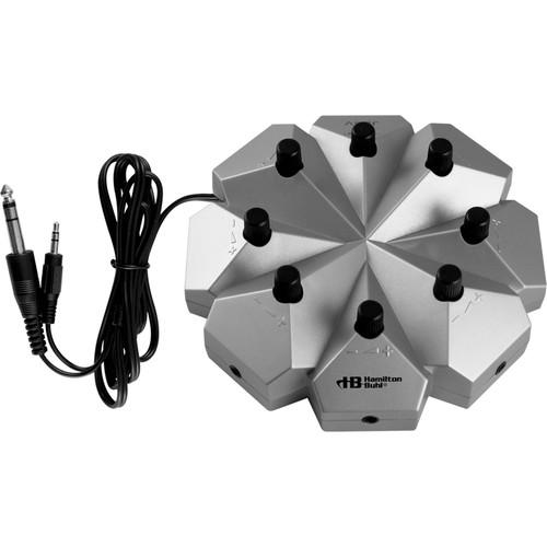 HamiltonBuhl Jackbox, 8 Position Stereo/Mono with Volume Control
