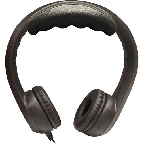 HamiltonBuhl Flex-Phones Foam Headphones (Black)