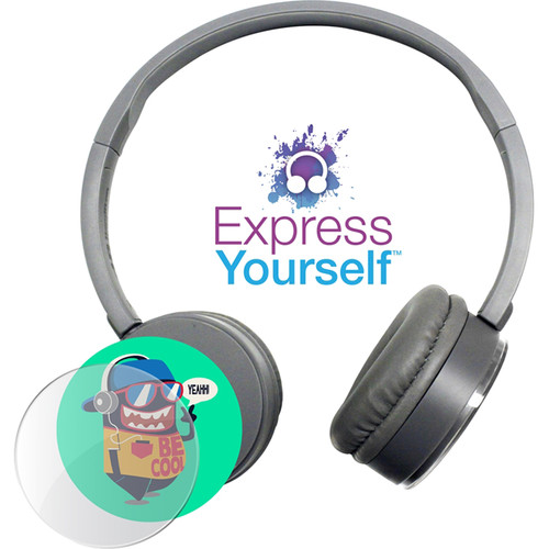 HamiltonBuhl Express Yourself Headphone for Children (Gray)